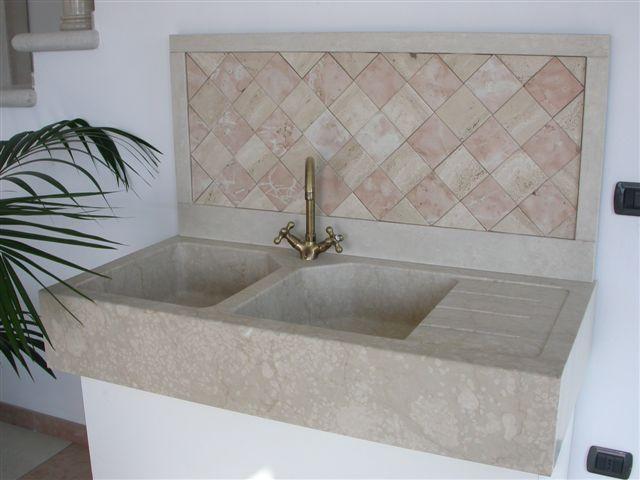Lavandini per cucina - Lavandini in marmo per cucina ...